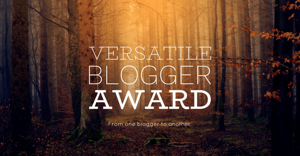 Versatile Blogger Award Nomination🏆